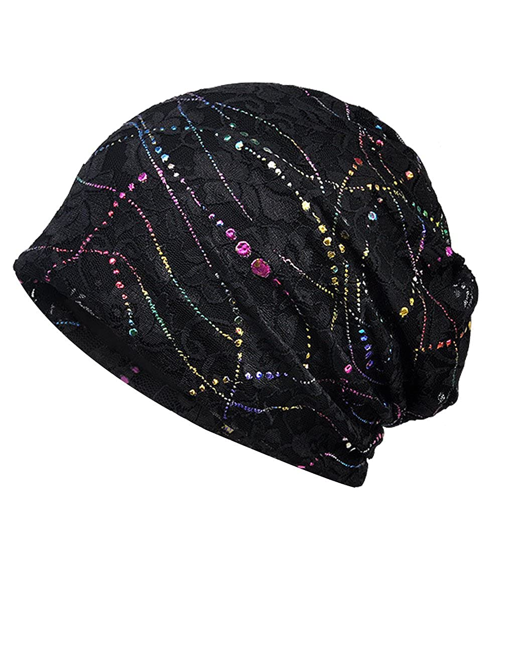 Chemo Beanies Womens Lace Chemo Hat Beanie Scarf