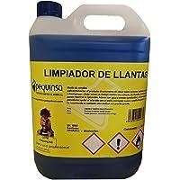PEQUINSA Limpiador de Llantas. Envase 5 litros. pH Neutro.