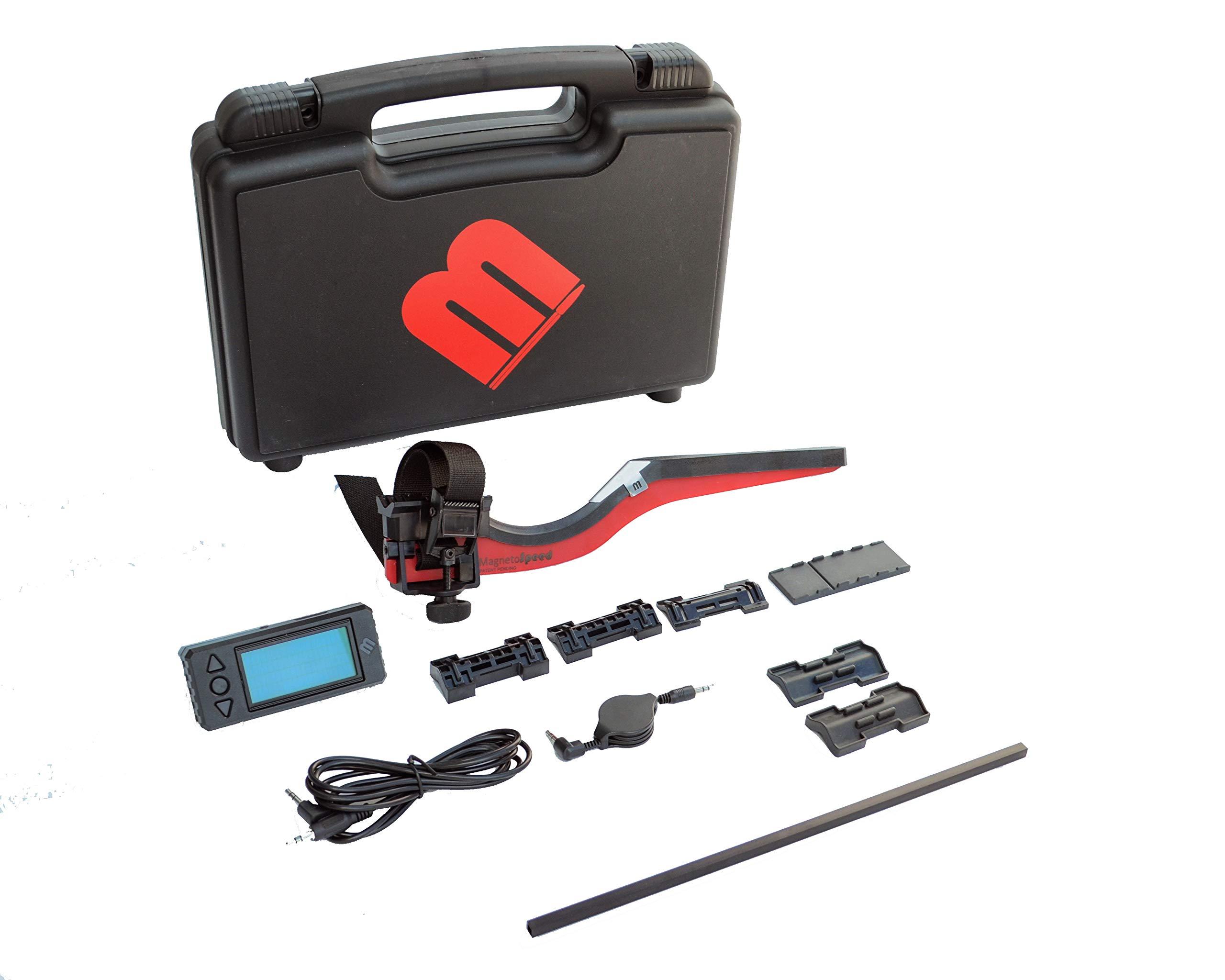 MagnetoSpeed V3 Barrel-Mounted Ballistics Chronograph Kit, Black, Hardcase by MagnetoSpeed