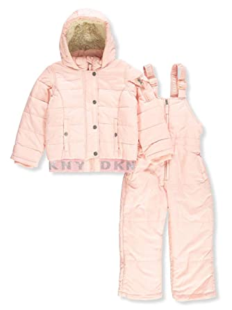 4dca2f367 Amazon.com  DKNY Girls  Toddler Snow Suit  Clothing