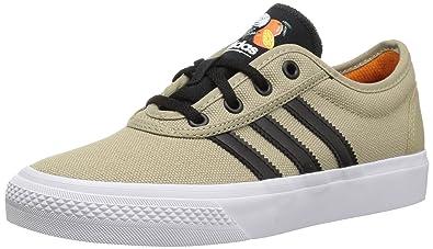 new product ff845 37f64 adidas Mens ADI-Ease Skate Shoe raw Gold s, core Black, FTWR White