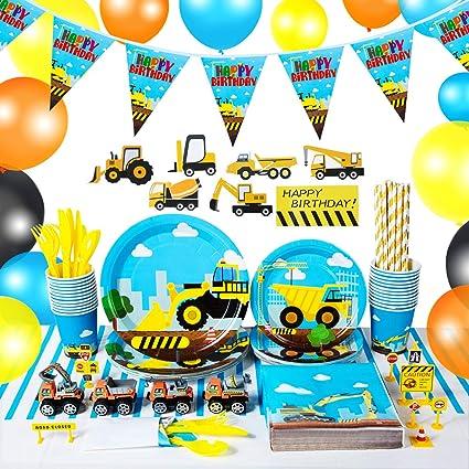 Amazon.com: Juego de suministros para fiestas de camión de ...