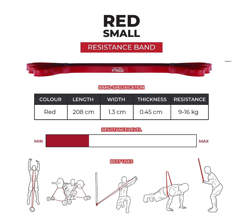 Bandas de resistencia Bandas de resistencia para fuerza y entrenamiento de fuerza yoga estiramiento crossfit DaisyGro gimnasio flexibilidad