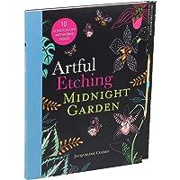 Artful Etching: Midnight Garden
