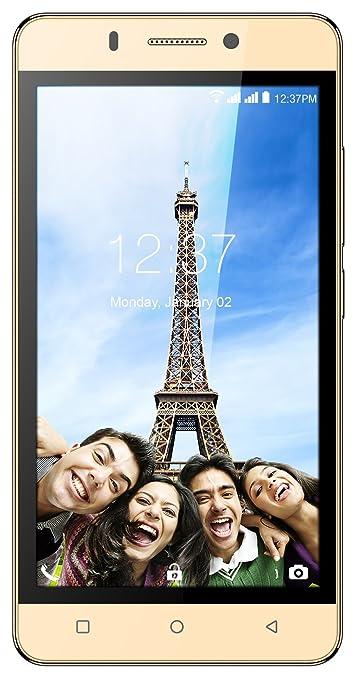 Intex Aqua Supreme+ (Champagne, 16GB) Smartphones at amazon