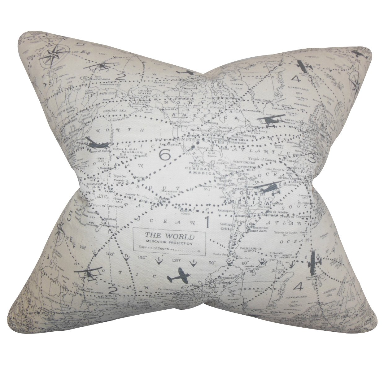 Rikki Knight 16 x 16 inch Person is Awesome #1 Microfiber Throw Pillow Cushion Square with Hidden Zipper -Printed in The USA Insert Included