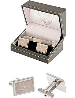 West Ham United F.c Colour Ring Leather Bracelet Official Merchandise