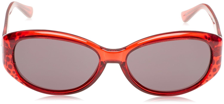 Guess GU7220, Occhiali da Sole Donna, Rosso/Nero, 59
