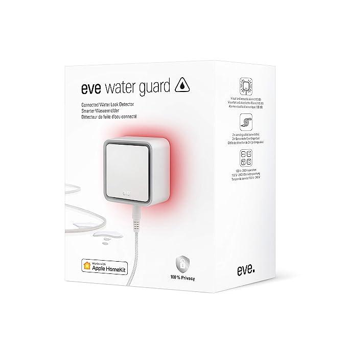 Eve 10EBG8701 Water Guard-Detector Inteligente, Cable Sensor de 2 ...