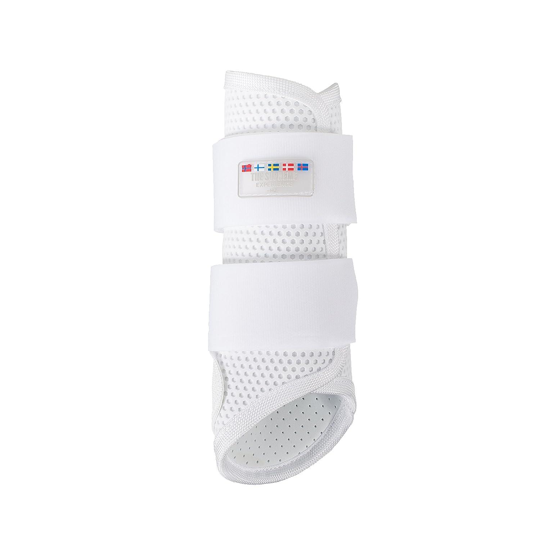 Horze Impact Absorbing dressage Brushingブーツ X-Large White(WH) B01EILLLNQ
