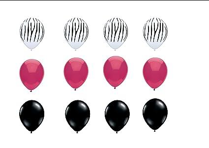 Amazon Zebra Print Latex Balloons Birthday Graduation Baby