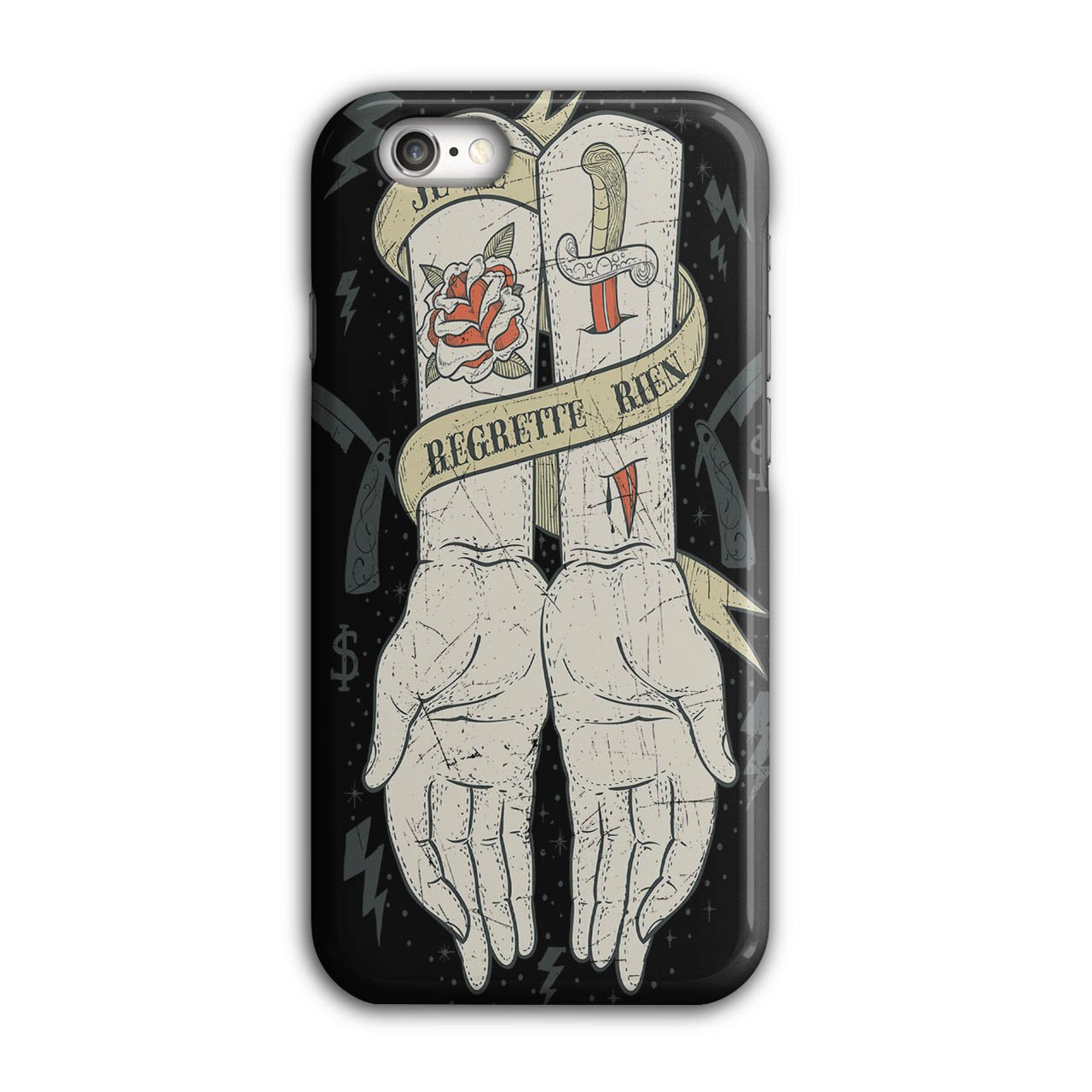 Amazon.com: Regret Nothing Fashion No Regrets iPhone 7 Plus Case ...