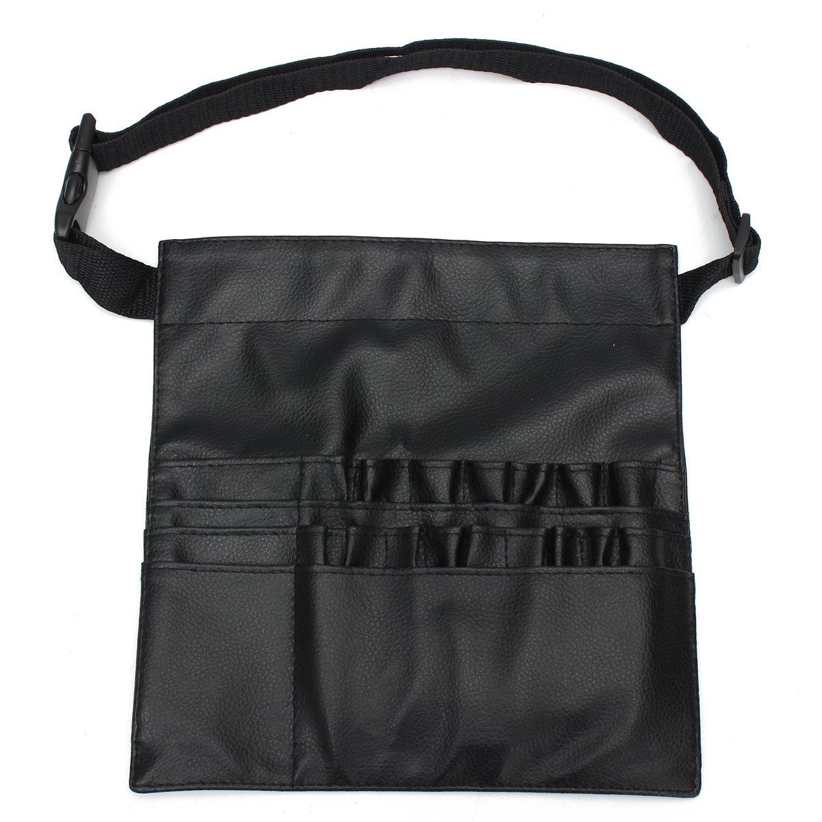 PU porta borsa custodia portatile 22tasche pennelli professionale con cinghia da polso (pennelli non inclusi) dDanke