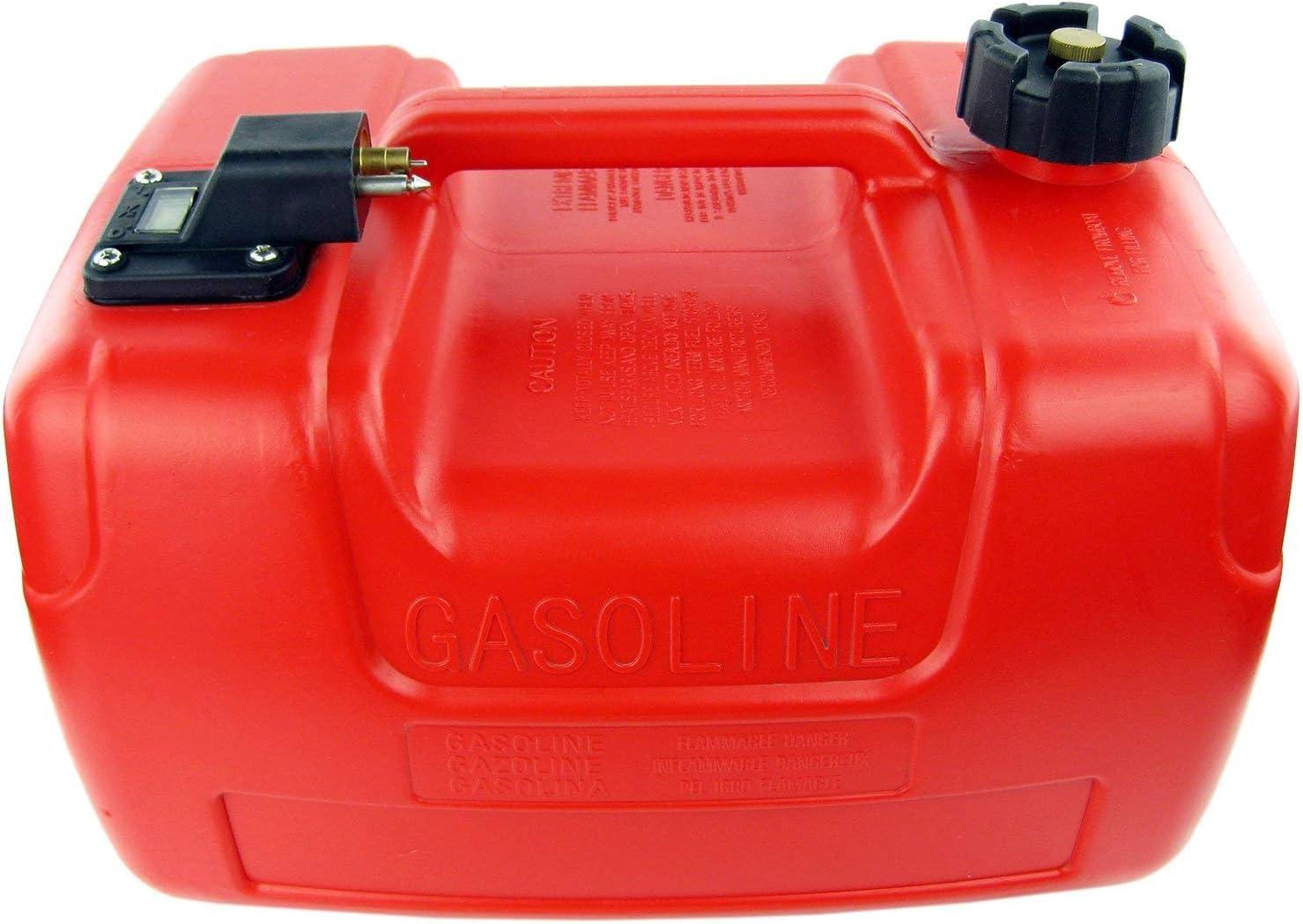 Pipeline 24L//6Gallon Boat Marine Outboard Motor Fuel Tank W// Connector