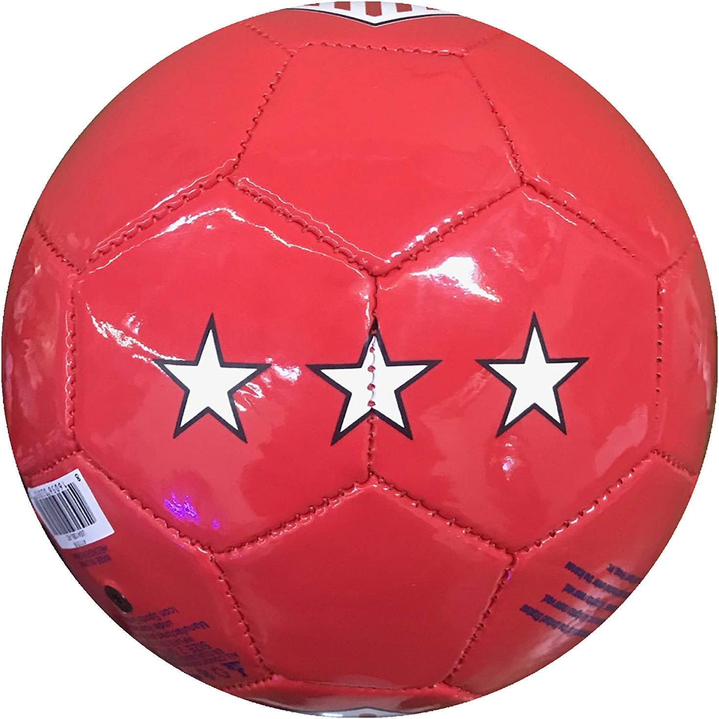 Icon Sports Unisex International Soccer United States Officially Licensed Soccer Ball Size 2 Red