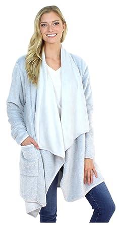 Sleepyheads Fleece Wrap Robe with Pockets, Long Sleeve Cardigan at ...