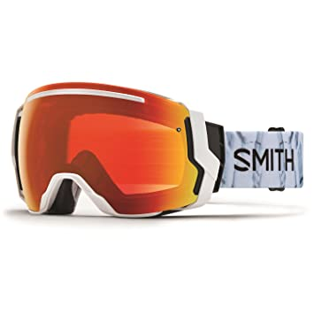 Smith Optics Adult I//O 7 Snowmobile Goggles Sunburst Split//ChromaPop Sun Black I//O7 Goggles