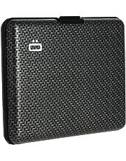 Ögon BS-Carbon Portefeuille Big Stockholm wallet Aluminium anodisé Carbon