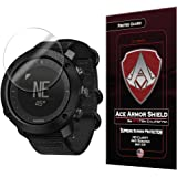 Ace Armor Shield Shatter Resistant Screen Protector for the Suunto Traverse Smart Watch with free lifetime Replacement warranty