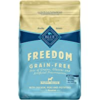 Blue Buffalo Freedom Grain Free Natural Puppy Dry Dog Food, Chicken