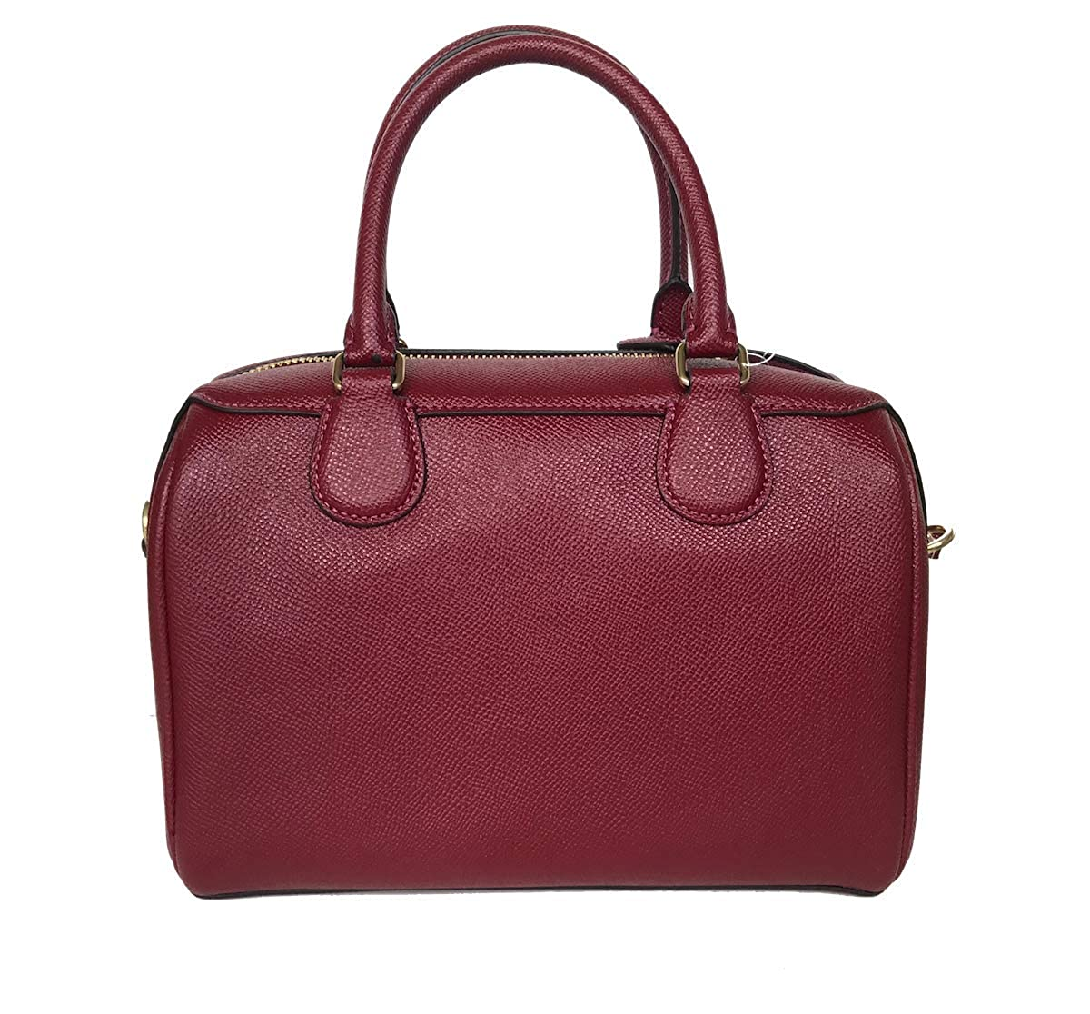 1367cc7e658fc Coach Leather Mini Bennett Shoulder Bag Handbag (Cherry)  Amazon.co.uk   Shoes   Bags