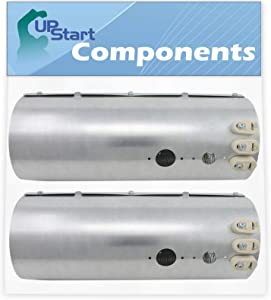 2-Pack 134792700 Dryer Heating Element Replacement for Electrolux EWMED70JSS0 Dryer - Compatible with 134792700 Heater Element Parts - UpStart Components Brand