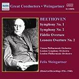 Symphonie Nr. 1+2/Ouvertüren