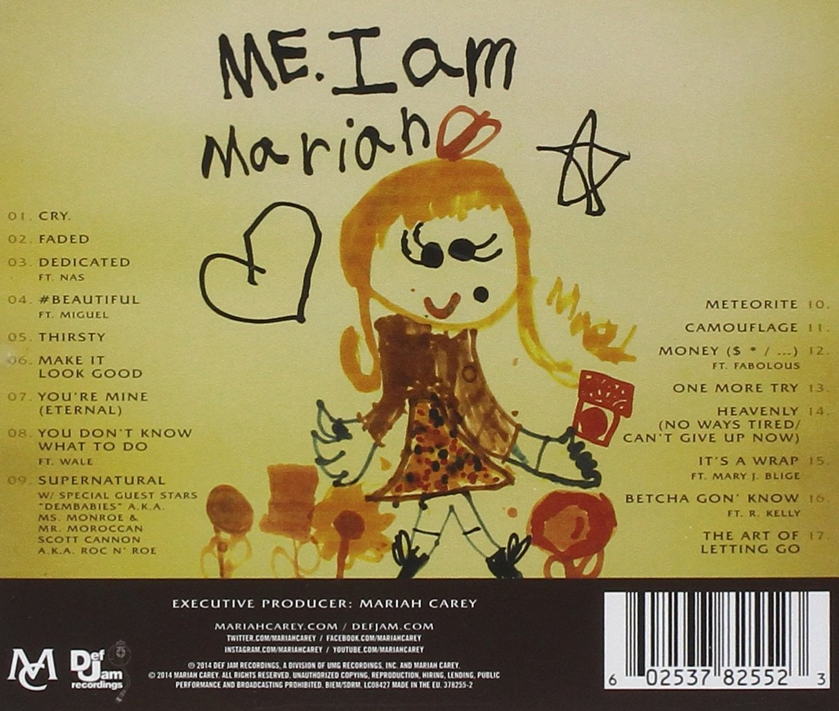 Me. I Am Mariah... The Elusive Chanteuse - Edición Deluxe: Mariah Carey: Amazon.es: Música