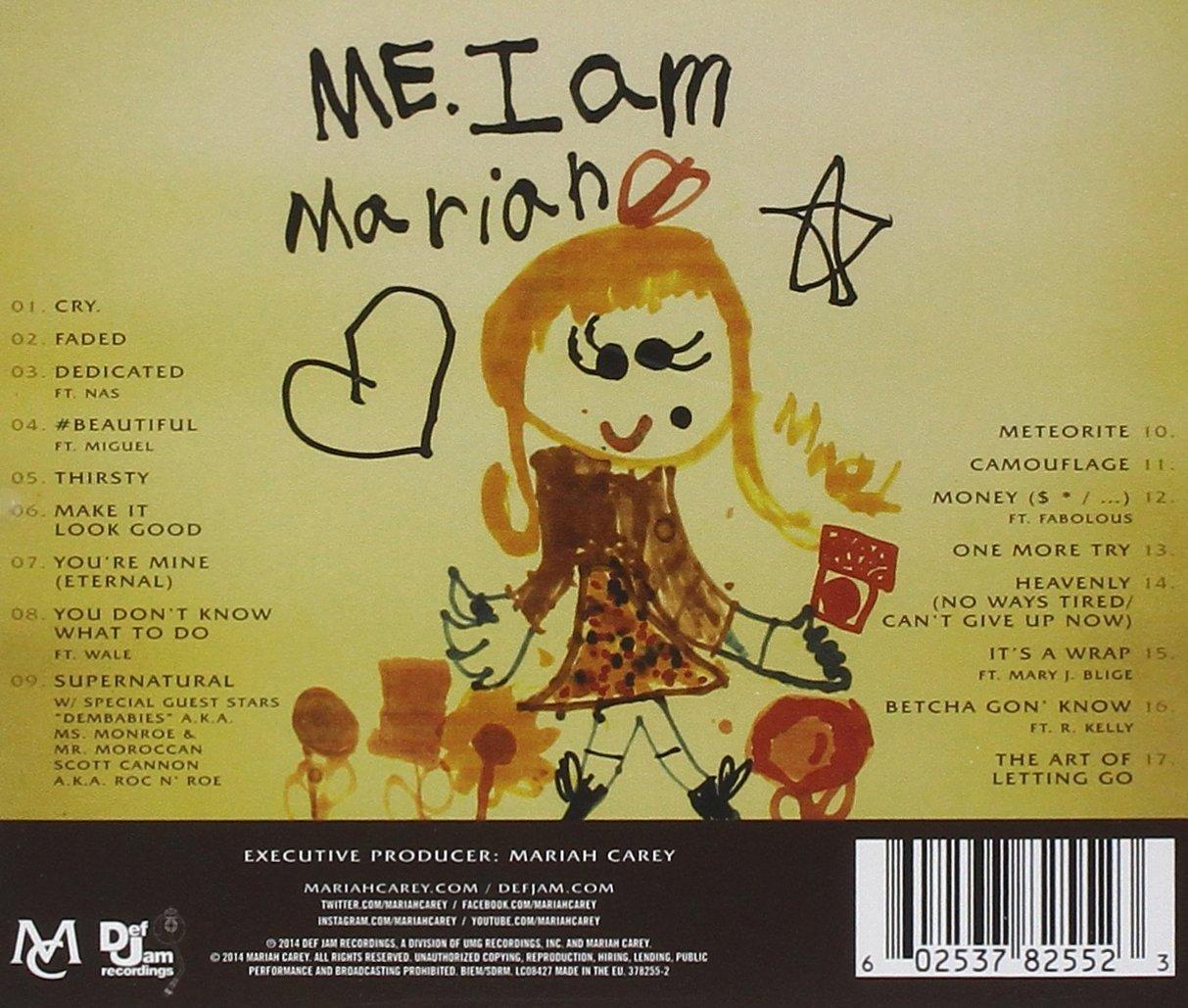 Me. I Am Mariah... The Elusive Chanteuse - Edición Deluxe: Mariah Carey: Amazon.es: Música