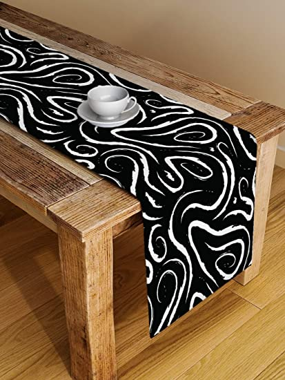 Alina decor Digital Printed Table Runner 13 X 49