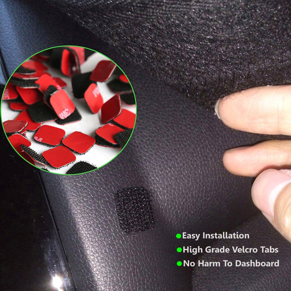 Big Ant Carpet Dashboard Cover for Toyota RAV4 2013 2014 2015 2016 2017 Carpet Dash Mat Eliminates Cracking Custom Fit Dashboard Protector/ Mat sunshade Cover Reduces Glare Easy Installation