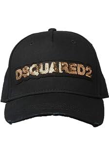 9a51c0c17fa DSquared Kappe Schwarz - One Size  Amazon.co.uk  Clothing