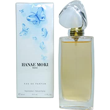 Hanae Mori Blue Butterfly Eau De Parfum Spray 50 ml: Amazon.co.uk ...