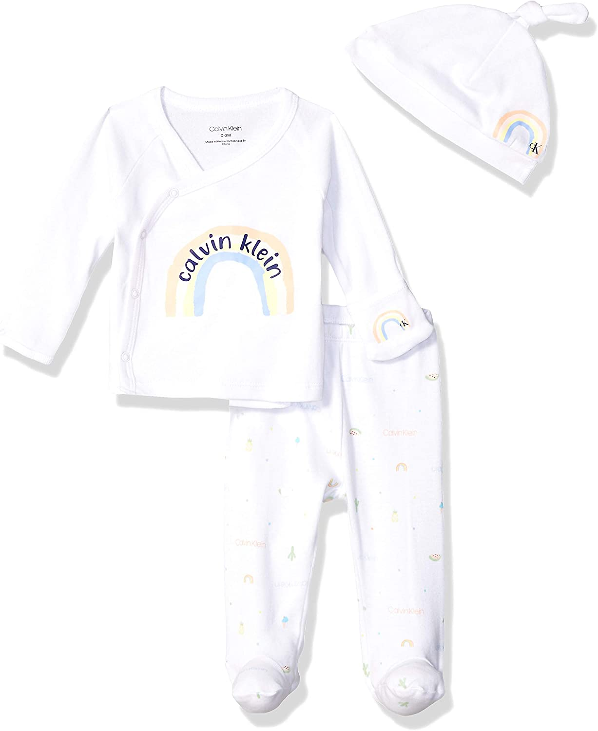 Calvin Klein Baby Newborn Take Me Home Set, Multi-Piece