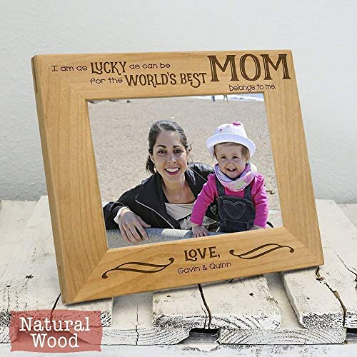 amazon com personalized worlds best mom frame personalized