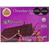 CACEP  Barra 1kg Chocolate Orgánico amargo 80% cacao Mexicano  Sin lácteos  Ideal para repostería  Bajo en azúcar  Puedes com