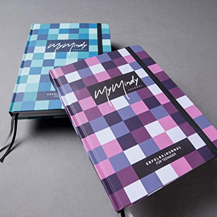 Teenager-Erfolgsjournal /& strukturiertes Tagebuch DIN A5 f/ür Ziele f/ür 182 Tage MyMindy Journal Selbstliebe Struktur und pers/önliche Entwicklung Achtsamkeit