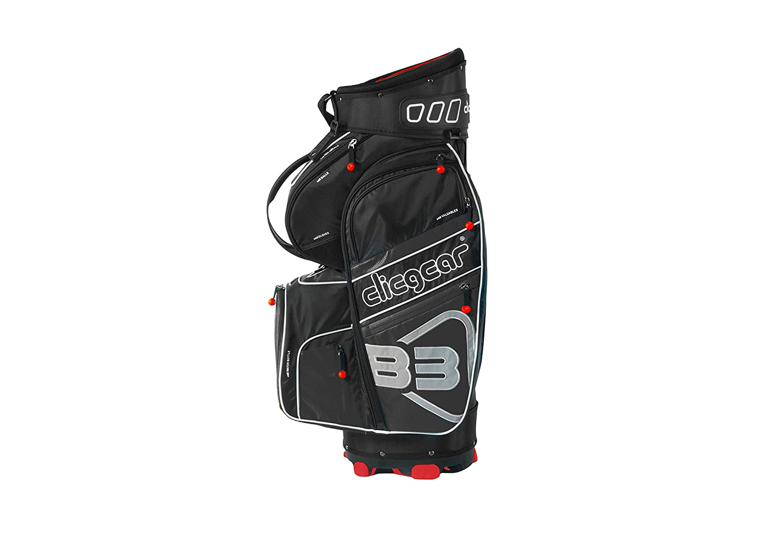 Clicgear B3 Golf Bolsa de Golf, Negro: Amazon.es: Deportes y ...