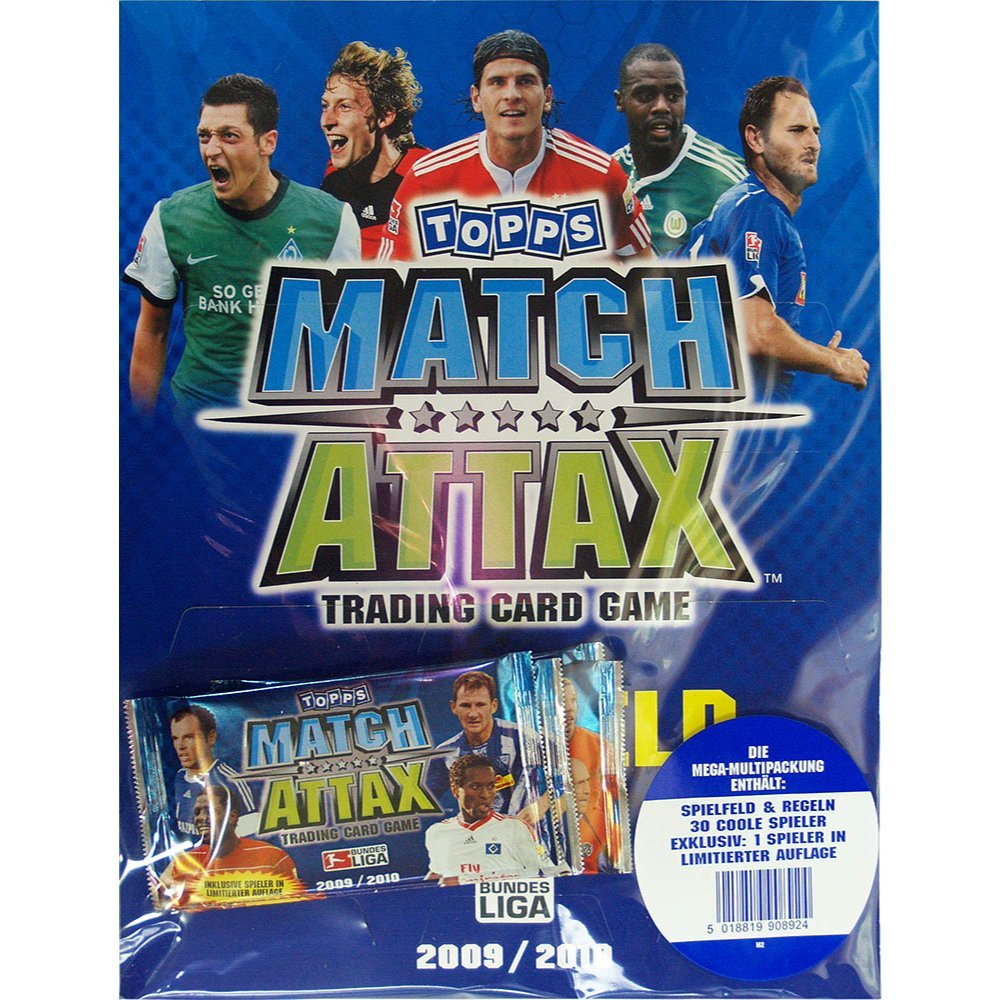 Topps TO102 Match Attax - Juego de cartas intercambiables ...