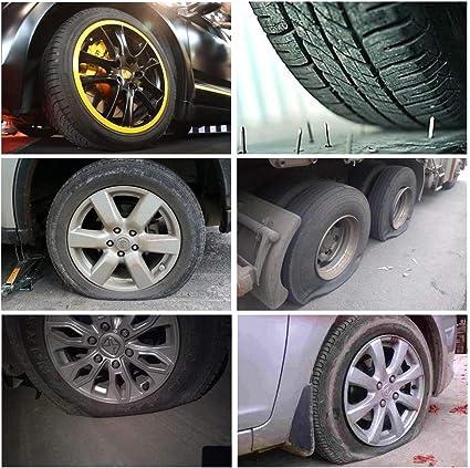 Ofnmy 91 Stück Reifen Reparatur Set Professionelle Reifenreparatur Set Für Motorrad Atv Jeep Lkw Pkw Usw Auto