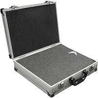 PeakTech 7255 - Universele koffer voor meetinstrumenten, robuuste draagkoffer, gereedschapsopslag, blokschuimplaten…