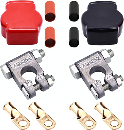 Cllena Military Style Battery Terminal Connectors Kit