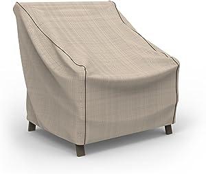 Budge P1W01PM1 English Garden Patio Chair Cover, Medium, Tan Tweed