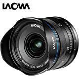 Laowa VE7520MFTSTBLK 7.5-mm Lens for Micro 4/3 Cameras (16.9 MP, HD 720 P), Black