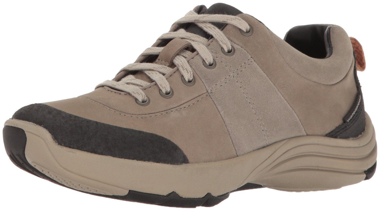 Clarks Women's Wave Andes Walking Shoe, Sage Nubuck, 10 M US