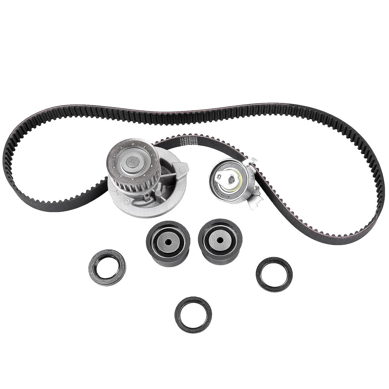 ECCPP® Engine Timing Belt Water Pump Kit For 99-08 Daewoo Nubira Suzuki Chevrolet Optra 2.0L(See Below Description) CTBK-C015WP