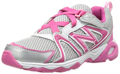 Buy 151593 New Balance Kids KV696 Kid Silver Pink Shoes