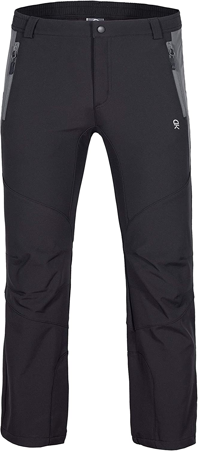 Little Donkey Andy Youth Boys Winter Hiking Ski Snowboarding Pants Softshell Pants Fleece Lined and Water Repellant