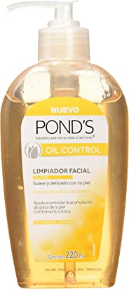 Pond's Jabón Facial Oil Free, 220 ml