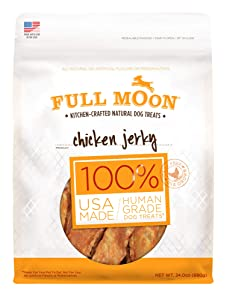 Full Moon All Natural Human Grade Chicken Jerky Dog Treats